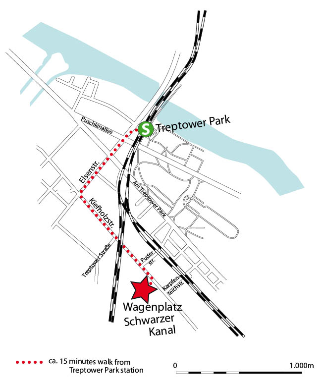 Lageplan Schwarzer Kanal